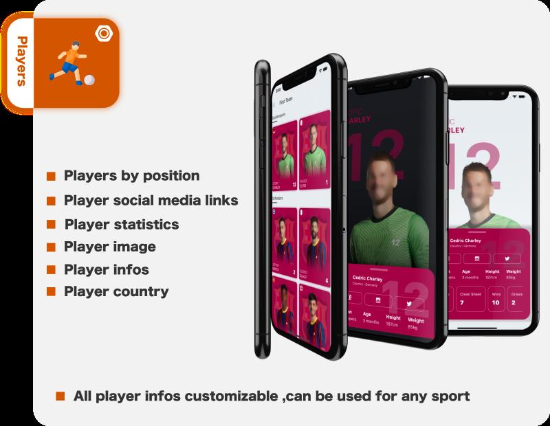 Minha equipe - Futebol - Futebol - Críquete - Aplicativo Esportivo - 11