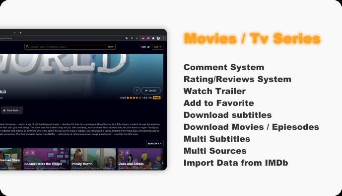 WebFlix - Movies - TV Series - Live TV Channels - Subscription - 11
